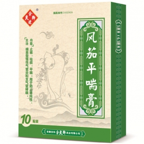 Chinese Asthma Relief Patch