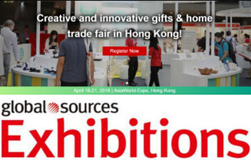 Meet us in Hong Kong at Global Sources Trade Show ! (April 18-21)