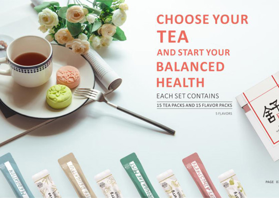 New product announcement-Herbal Essential Tea