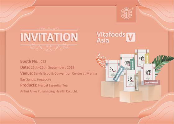 Meet us at the 9th Vitafoods Asia in Singapore !